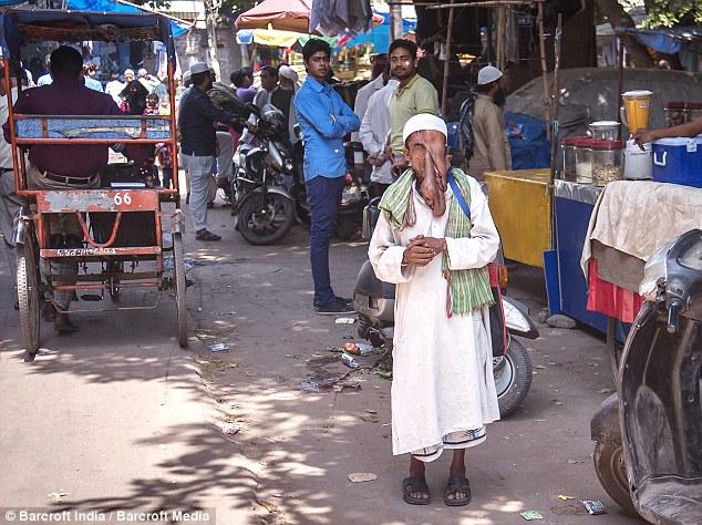 india elephant man 5