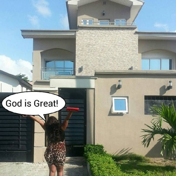 vera sidika house in nigeria