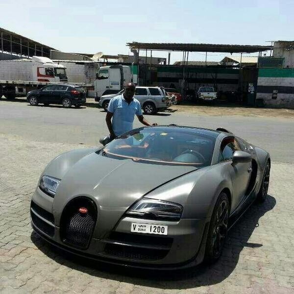 Ksh 250 Million Bugatti Vitesse In Mombasa Naibuzz