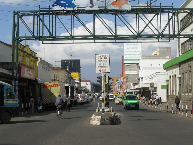 Nakuru_Town_-_main_street