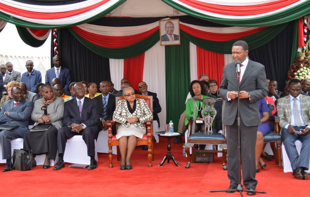 alfred mutua and first lady