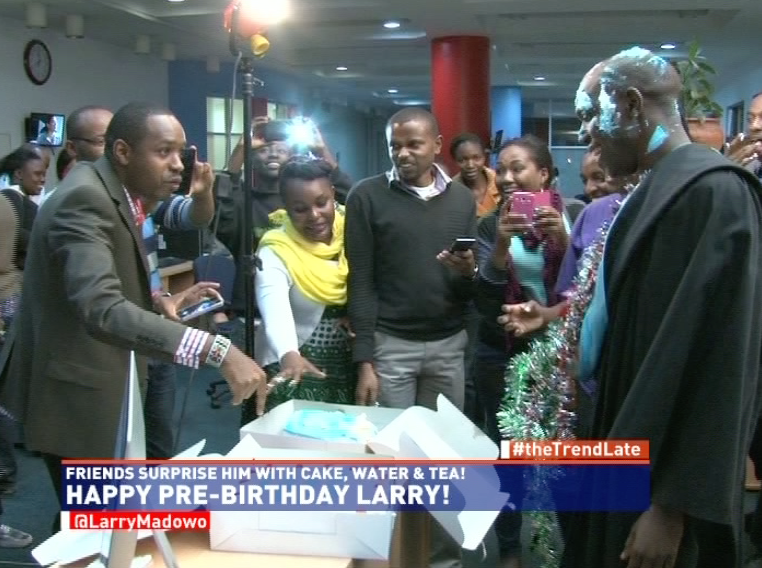 Larry Madowo's Epic Surprise Birthday & Graduation Party