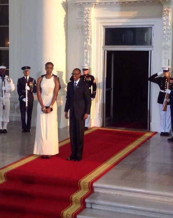 Best Uber Cars >> Photos Of Paul Kagame and His Tall Daughter At The White ...
