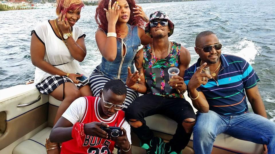 Best Investment Watches >> Diamond Platnumz Cruising With Girlfriend In Mwanza - Naibuzz