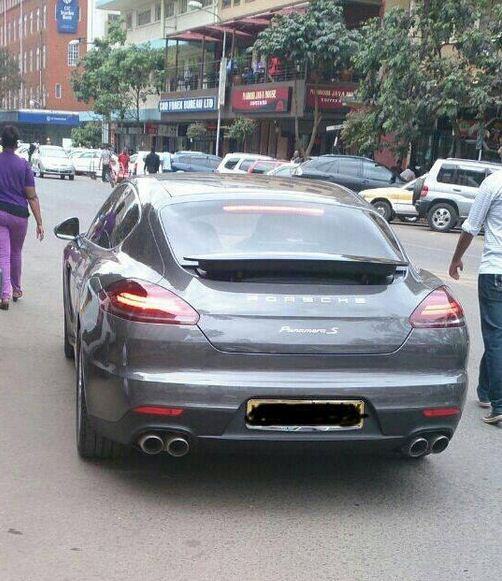 ksh 20 million porsche panamera s on the streets of nairobi naibuzz. Black Bedroom Furniture Sets. Home Design Ideas