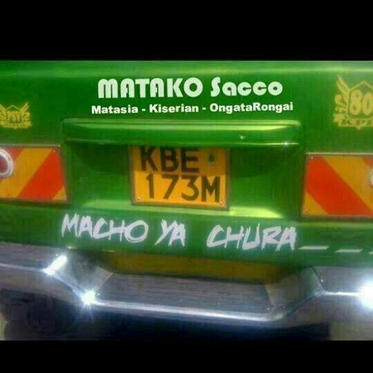 some matatu sacco names