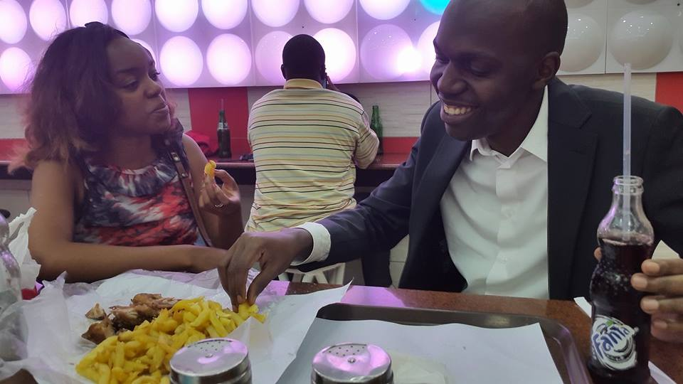 larry madowo and edith