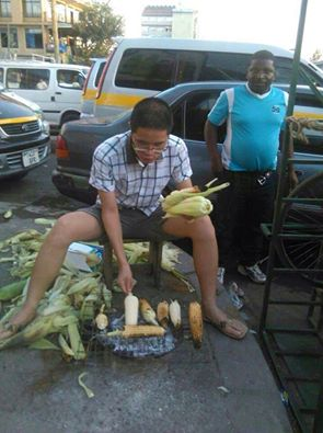 chinese roasting maize in tanzania