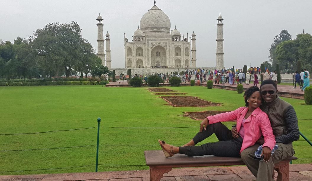 Politician Ababu Namwamba Takes His Wife To The Taj Mahal