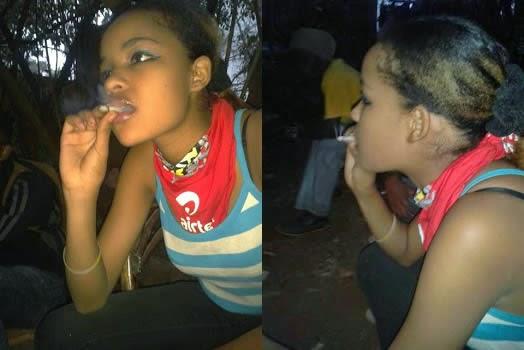 Dating a smoker girlfriend