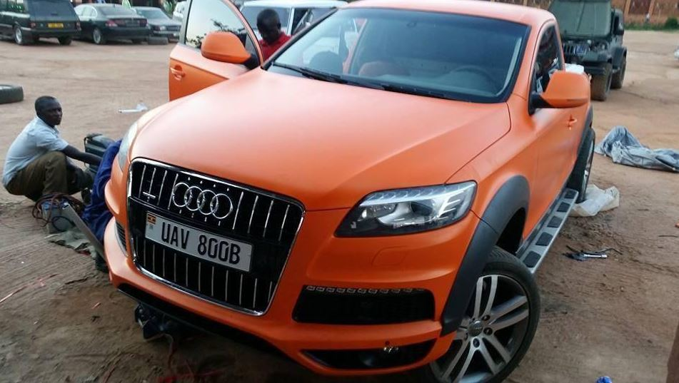 Audi Q7 Converted Into A Pick Up Truck In Uganda Naibuzz