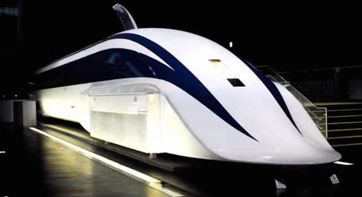 japan hover train