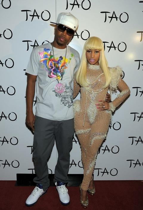 Nicki Minaj Celebrates Her Birthday At TAO Las Vegas