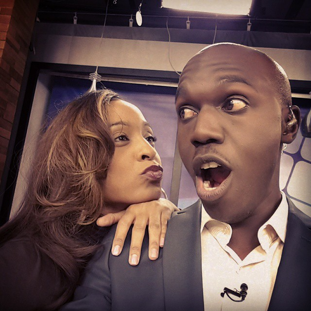 alaine and larry madowo
