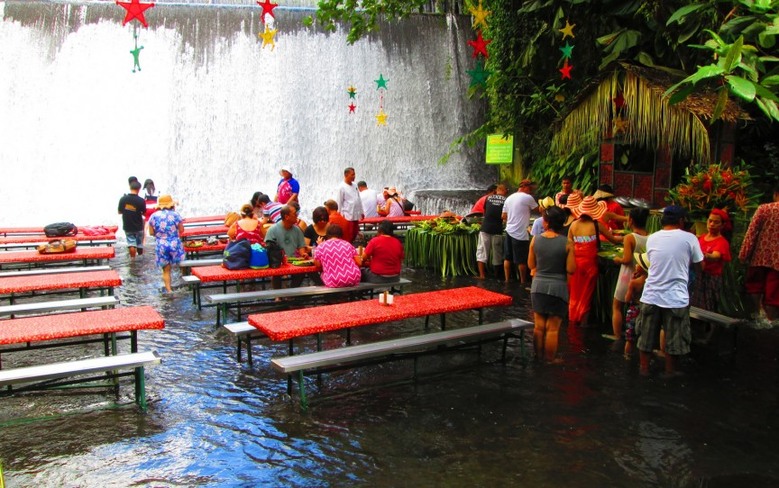 labassis waterfall restaurant