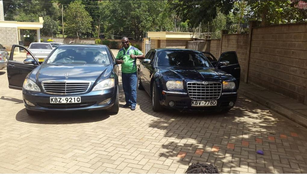 Paul Kobia Is Very Rich And Some Videos Online Show That He Drives Expensive Cars With A Number Of Bodyguards Also Has Photos Him Showing Off