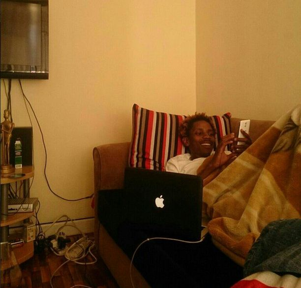 Eric-Omondi-in-his-crib