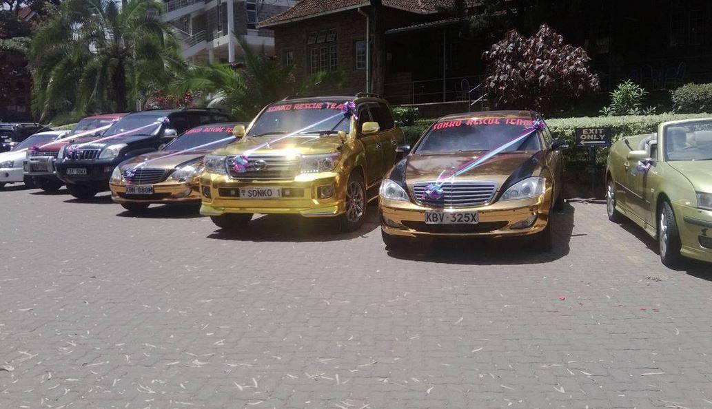 Mike Sonko S Cars