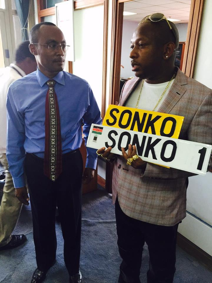Mike Sonko S New Legit Customized Number Plates For His