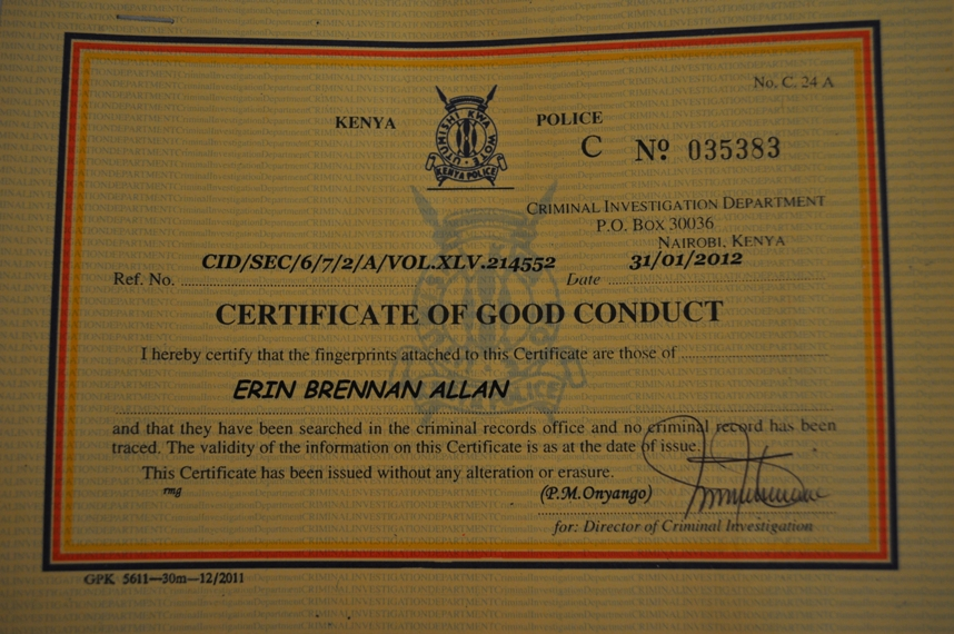 How To Get A Certificate Of Good Conduct In Kenya Naibuzz