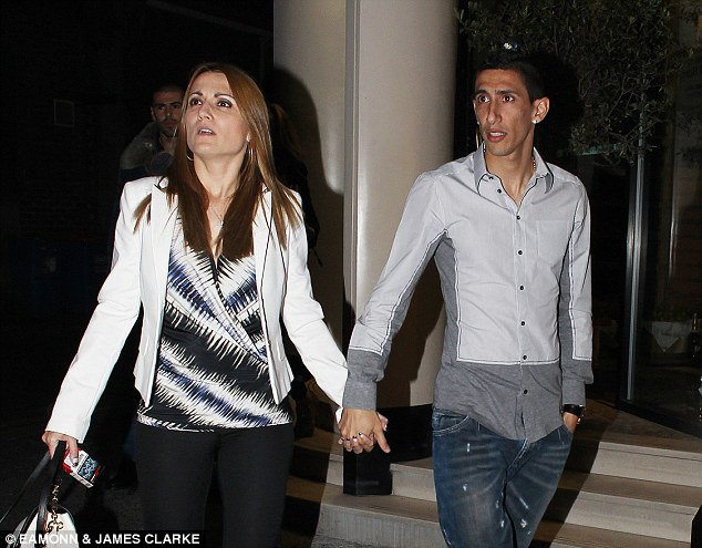 Di Maria and His Wife