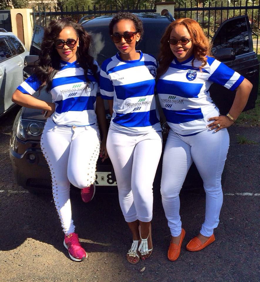 Vera Sidika S Sexy Outfit During The Gor Vs Afc Match