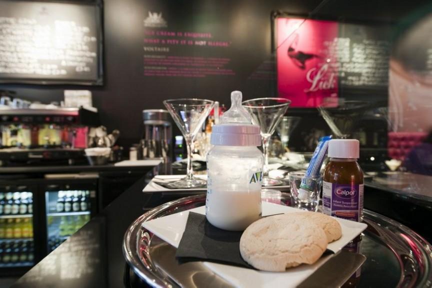 breast milk icecream