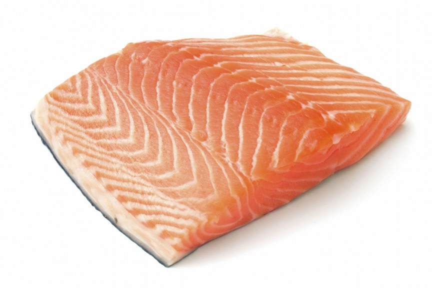 farm raised salmon