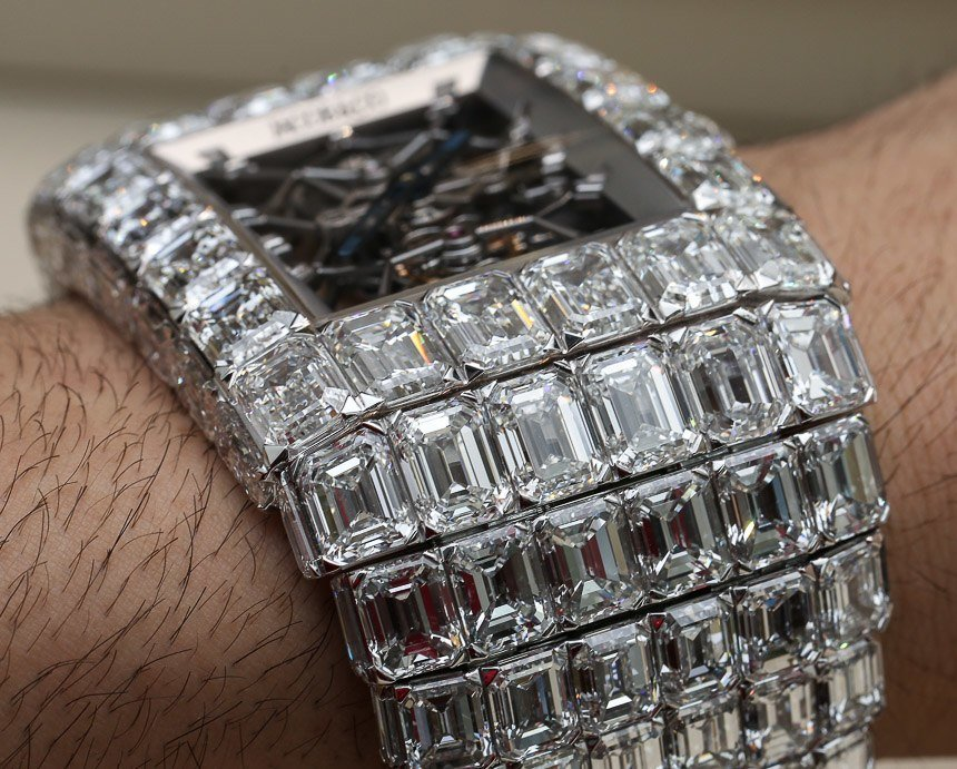 18 Million Watch Covered In Diamonds Naibuzz