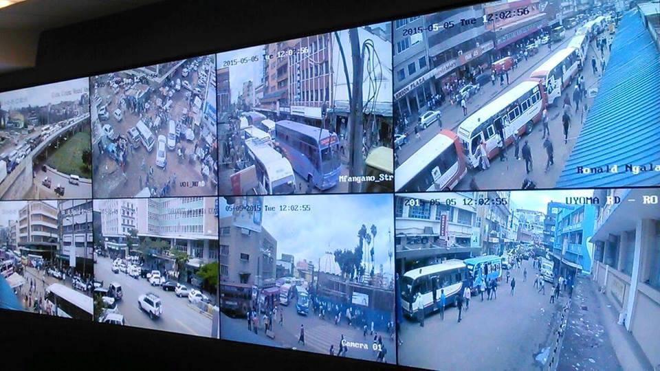 Photos Of The New CCTV Control Center In Nairobi