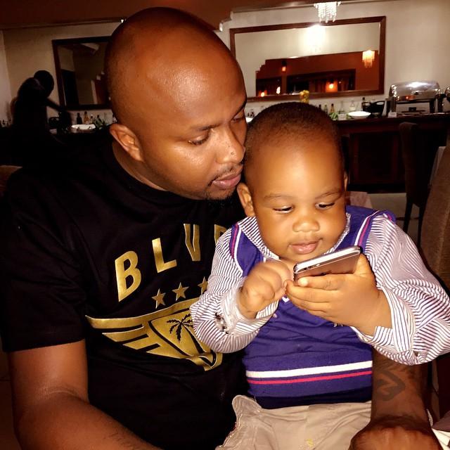 dj creme and son