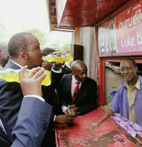 raila selling soda