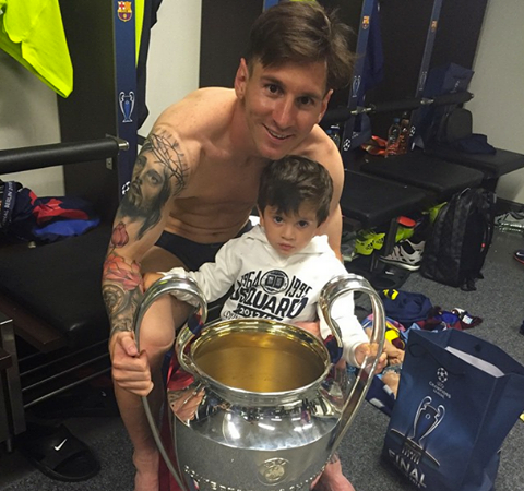 messi and son