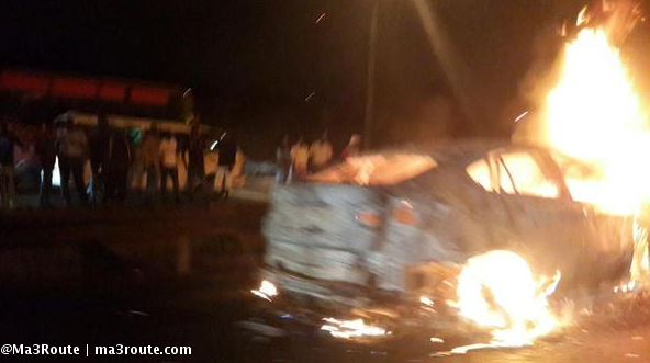Bmw X6 That Was Destroyed On Thika Road Naibuzz