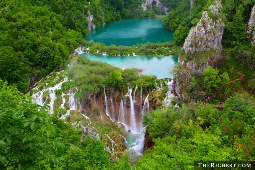 Plitvice Lakes Waterfalls, Croatia