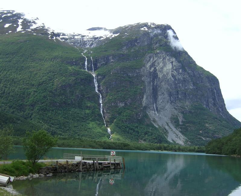 Ramnefjellfossen Utigardsfossen, Norway