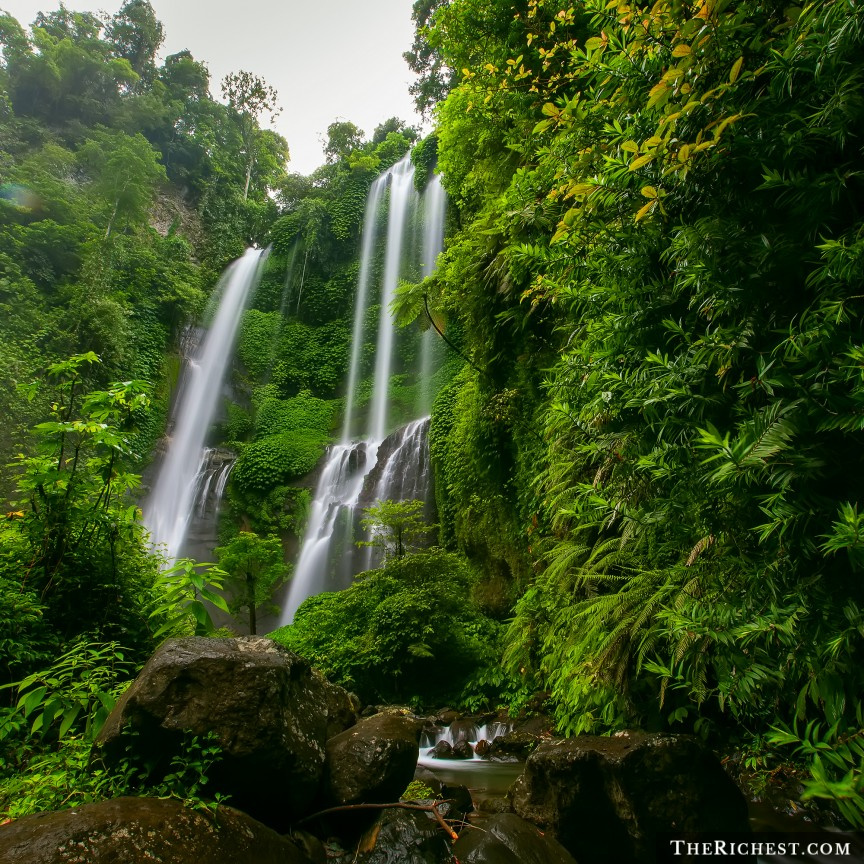 Sekumpul Waterfall, Indonesia