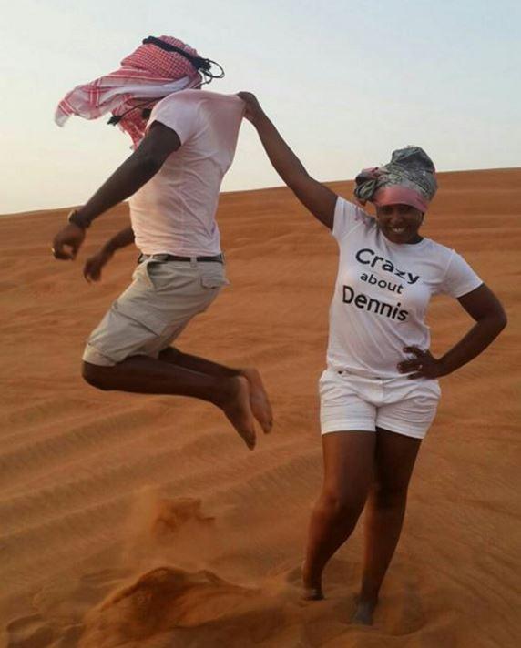 Betty Kyalo And Dennis Okari Take Their Honeymoon To Dubai