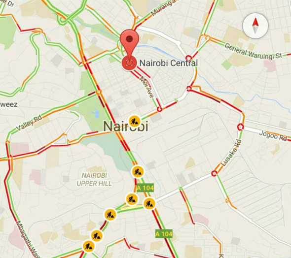 Google-Maps-traffic-updae