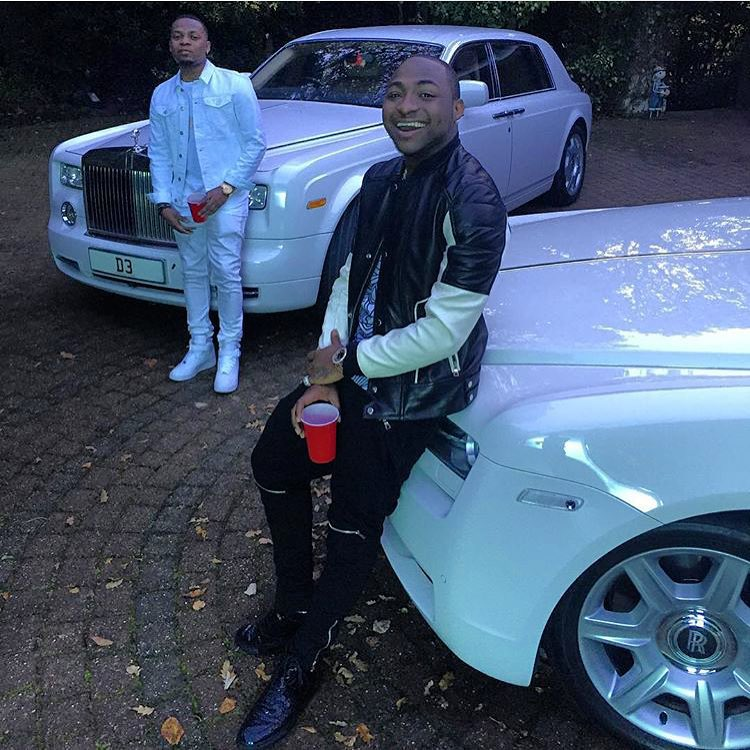 Photos Check Out Davido S Fleet Of Expensive Cars Naibuzz