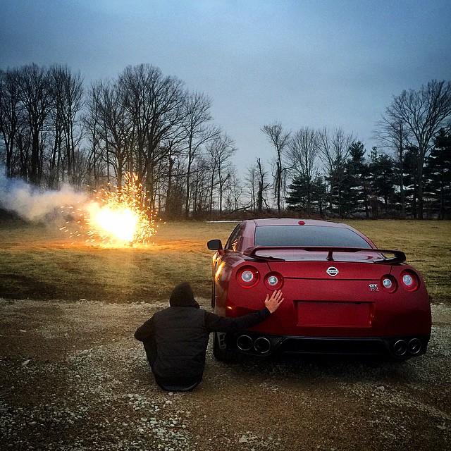 Roman atwood car