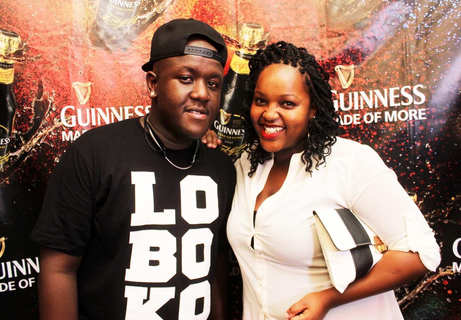 Dj Joe Mfalme and Samantha Wainaina