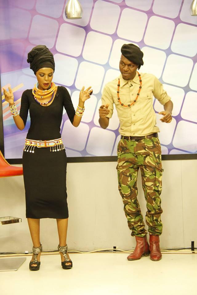 njambi and larry