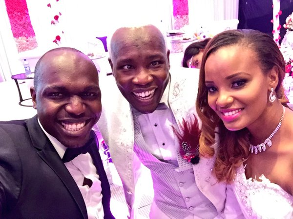 Photos From Daddy Owen And Farida S Wedding Naibuzz