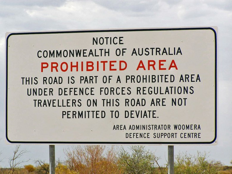 Woomera Prohibited Area – Australia