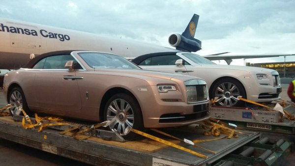 A Pair Of Rolls Royce Just Arrived At Jkia Naibuzz