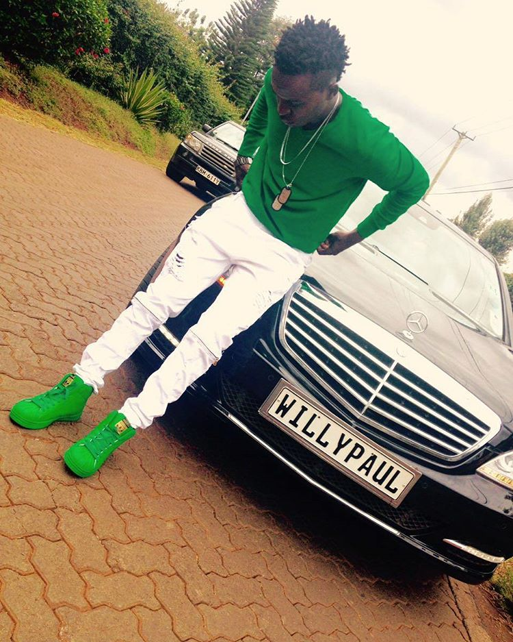 willy paul car mercedes