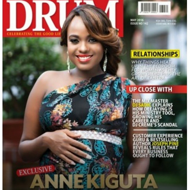 Citizen Tv S Anne Kiguta Gives Birth To Twins Is This The