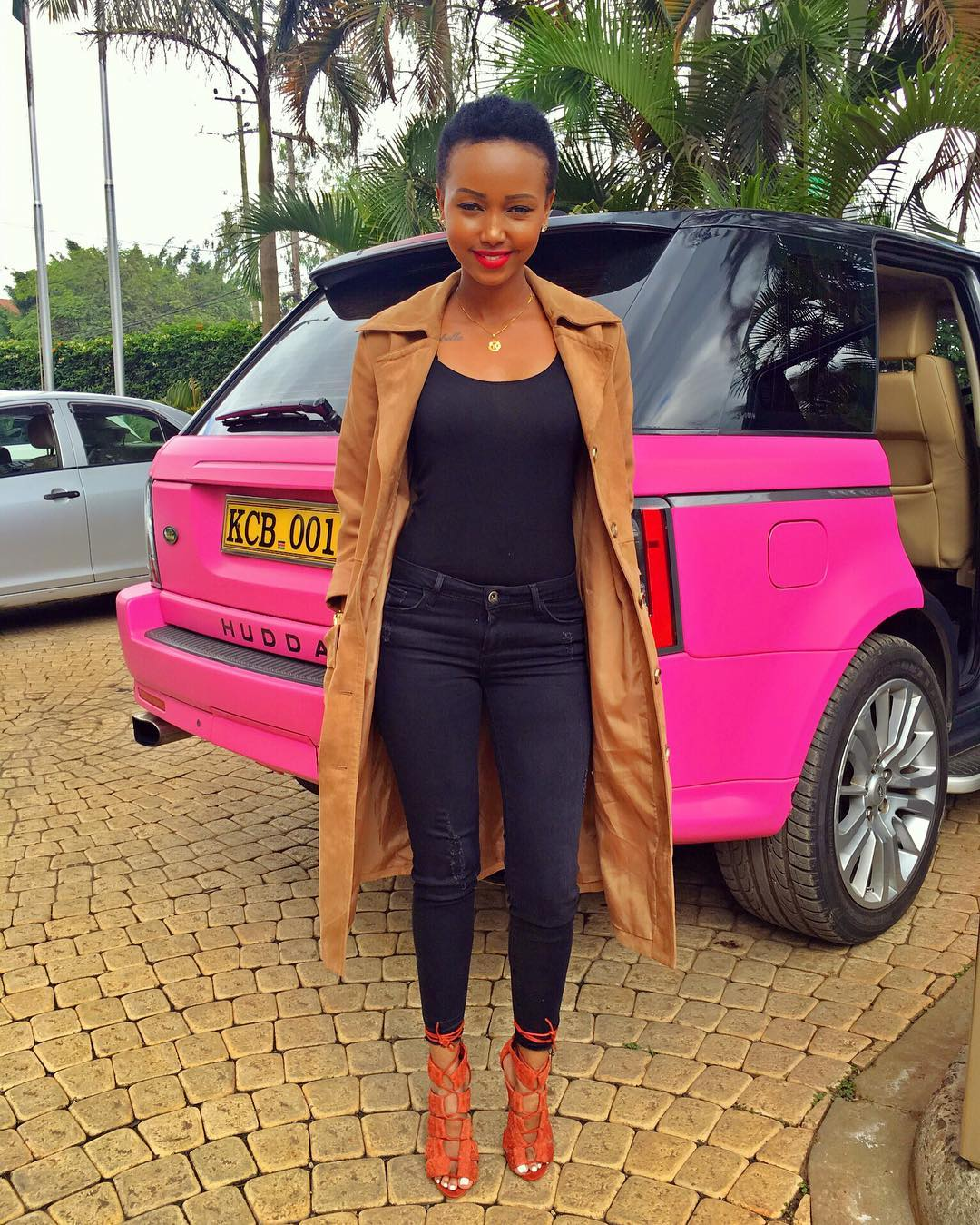 When Does Uber Pay >> Huddah Reveals How She Got Her Pink Range Rover - Naibuzz