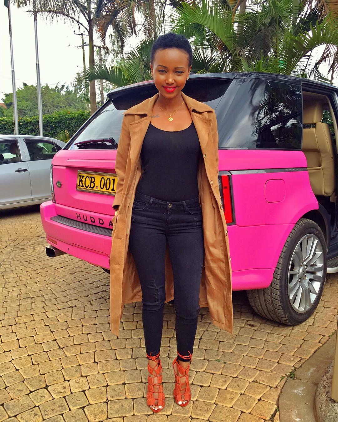 Kenyan celebrity cars pictures